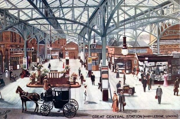 C36j9vEWMAEJ VZ - Marylebone station's anniversary