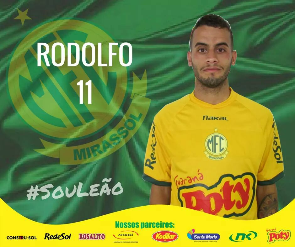 """Fred Gomes على تويتر: """"O meia-atacante Rodolfo, que surgiu bem no Fla em  2013, desvinculou-se definitivamente do clube. Jogará no Mirassol. #gefla…  https://t.co/011NMJrdFb"""""""