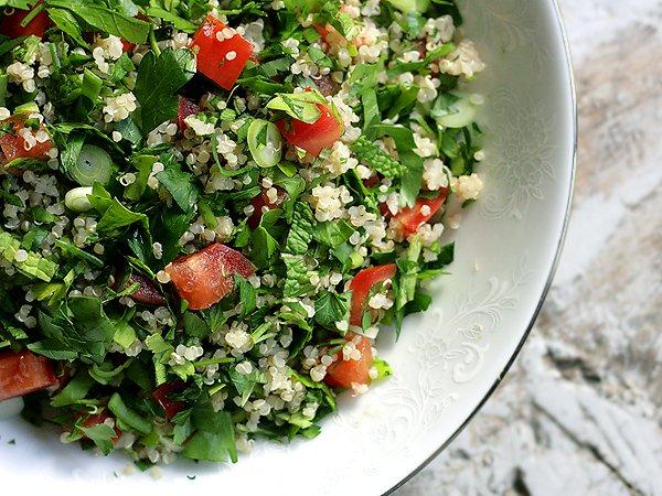 Deliciosa nuestra ensalada #Tabule! Pídela en cualquiera de sus presentaciones.  #Combo #ListaParaLlevar