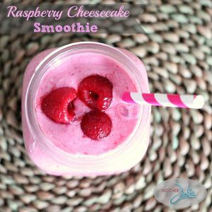 Raspberry Cheesecake Smoothie Recipe