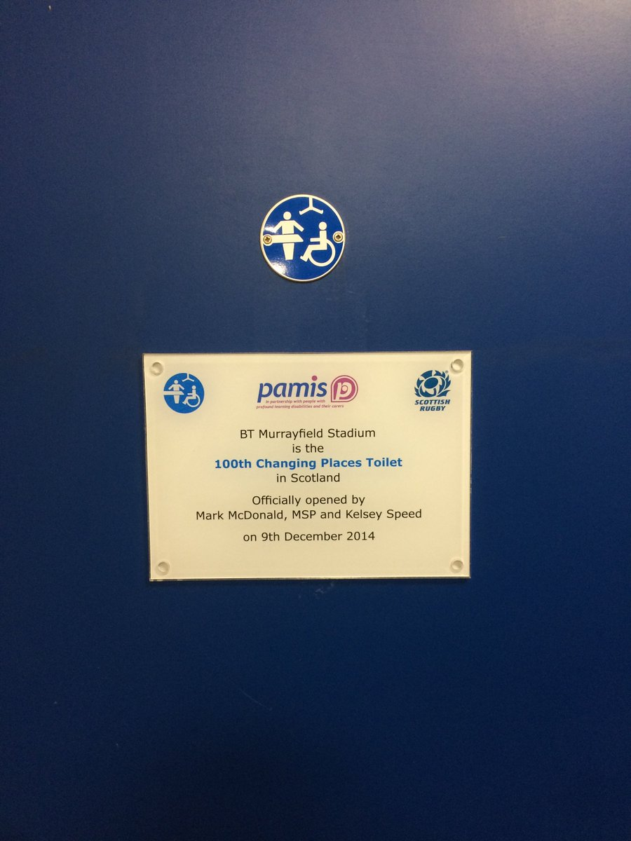 @scottishrugby loved attending #murrayfield this weekend &amp; made even better to see it is accessible to all #ChangingPlaces #Pamis #AsOne<br>http://pic.twitter.com/GoiZkq4adq