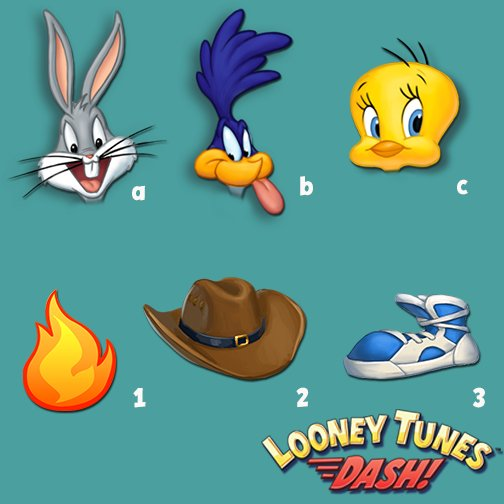 looney tunes dash hats