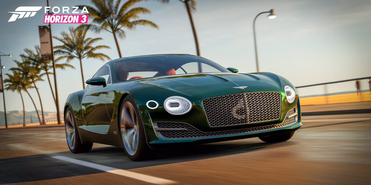 Bentley #EXP10Speed6 now available to drive at @ForzaMotorsport in virtual reality: