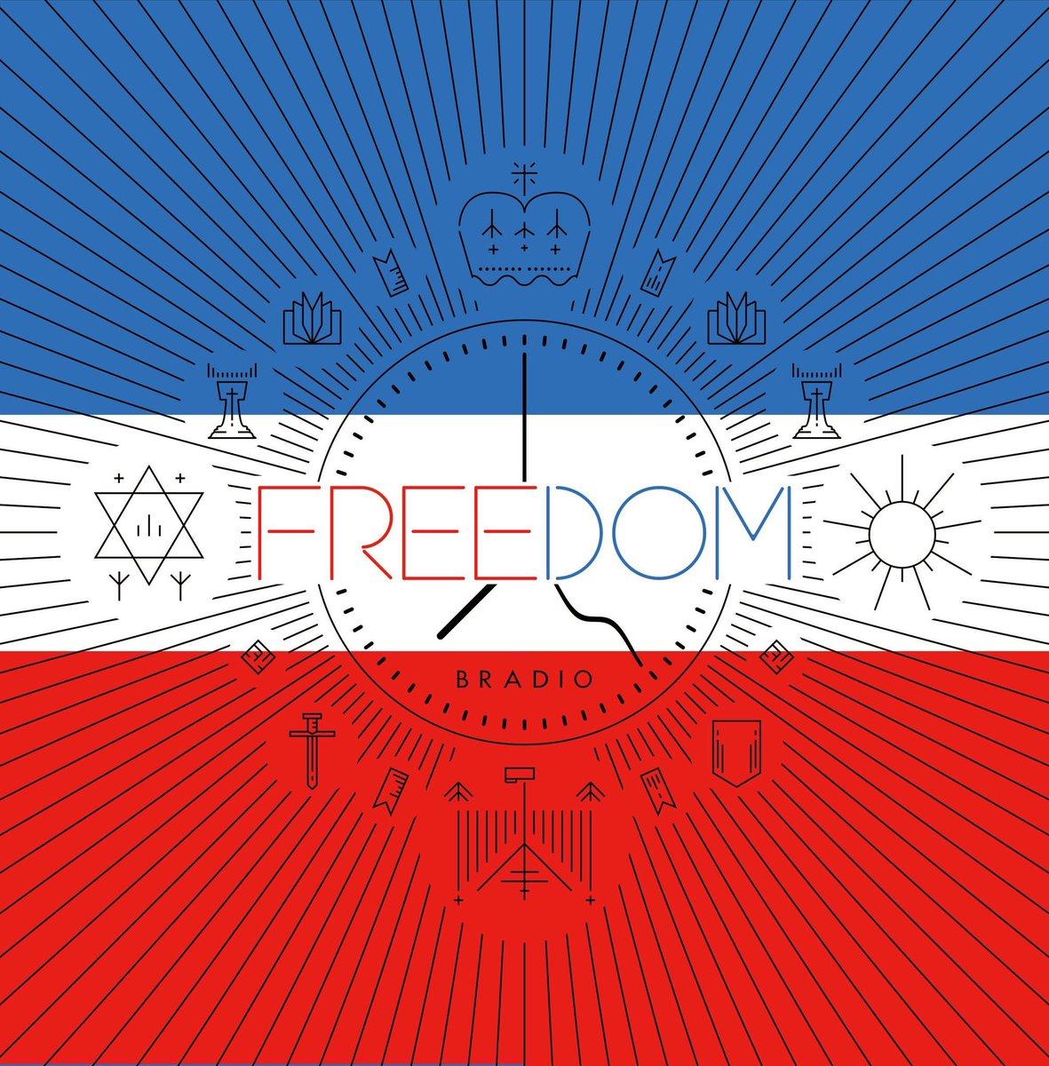 BRADIO 2nd Full Album  【FREEDOM】  発売中💿💿💿!  初回盤は昨年7…