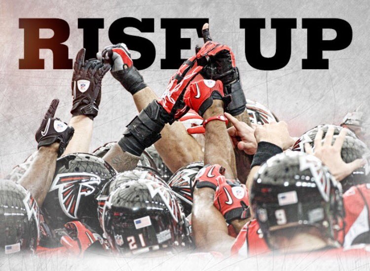 We love our team. Congratulations to the @AtlantaFalcons on a great season. #RiseUp https://t.co/Y70g7RtJb1