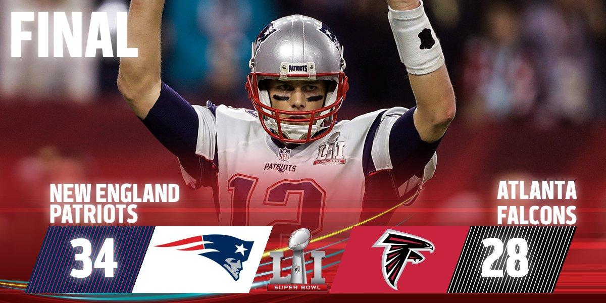 The Patriots Complete Historic Comeback To Win Super Bowl 51