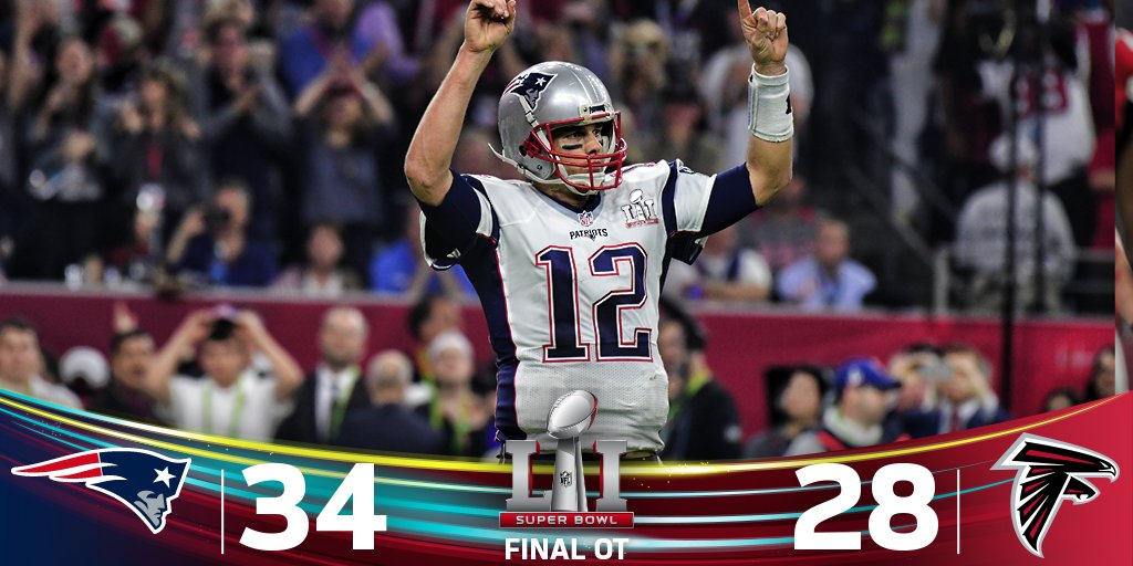 Patriots Pull Off Stunner To Win Super Bowl Li Orlando