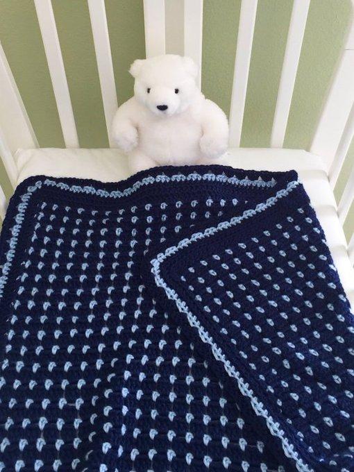 Crochet Baby Blanket Pattern, Baby Blanket Pattern, Crochet Baby Afghan, EASY PATTERN