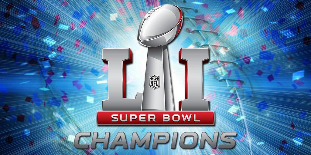 Super. Bowl. Champions.