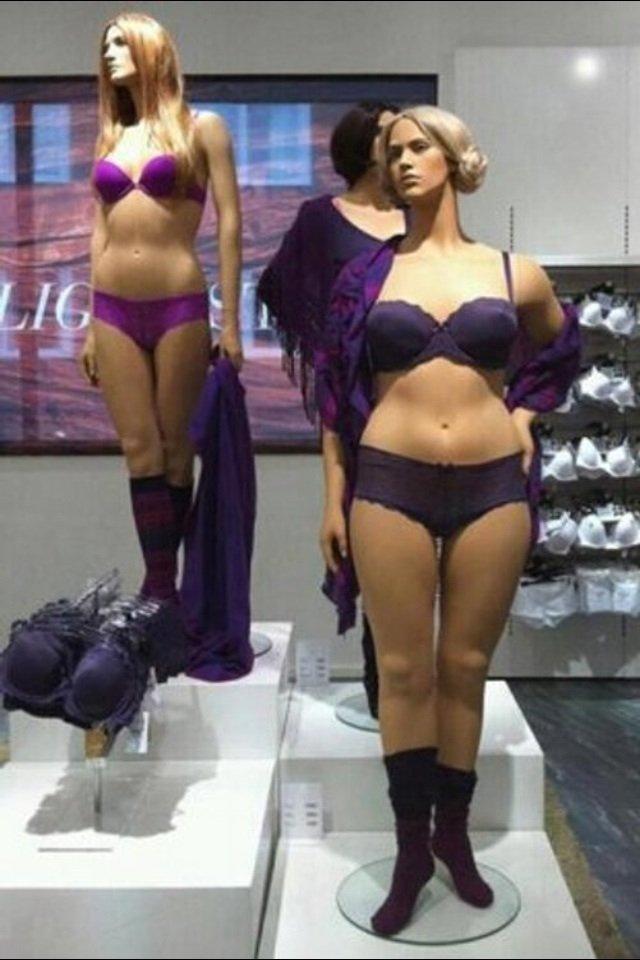 ちょっと前に話題になったH&Mの「現実的な体型のマネキン」。肉体的自己嫌悪だとか拒食症を緩和する必要…
