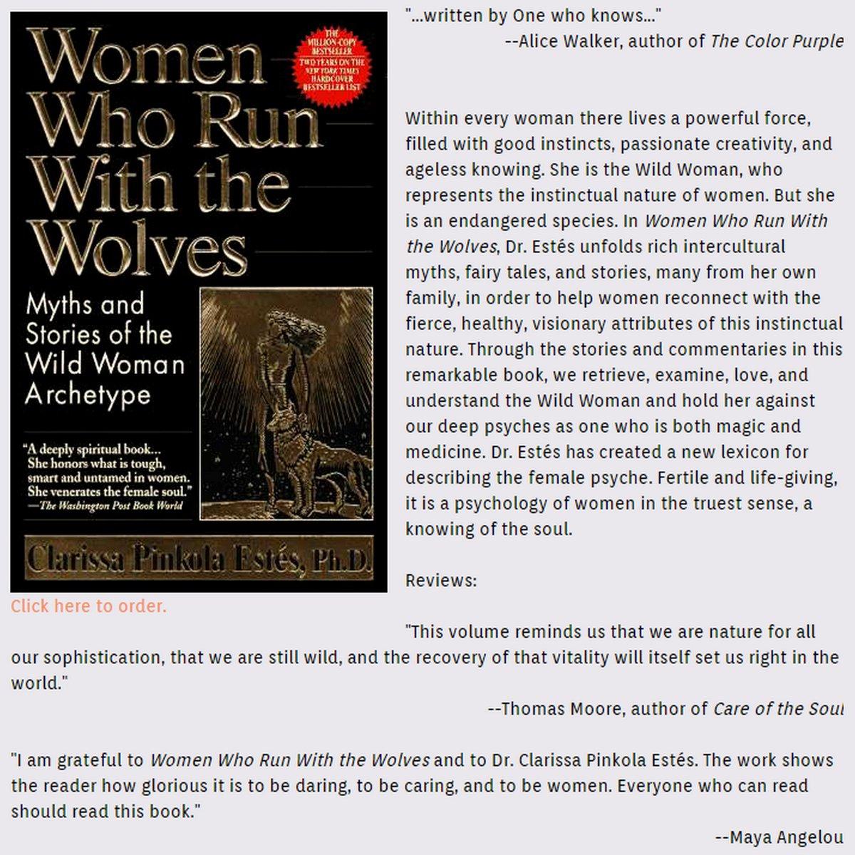 specghost on twitter women who run with the wolveshttpstcoywlhc8cxpz audiobooks books rightwolf book drclarissa pinkola