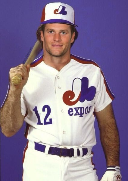 tom brady jersey baseball
