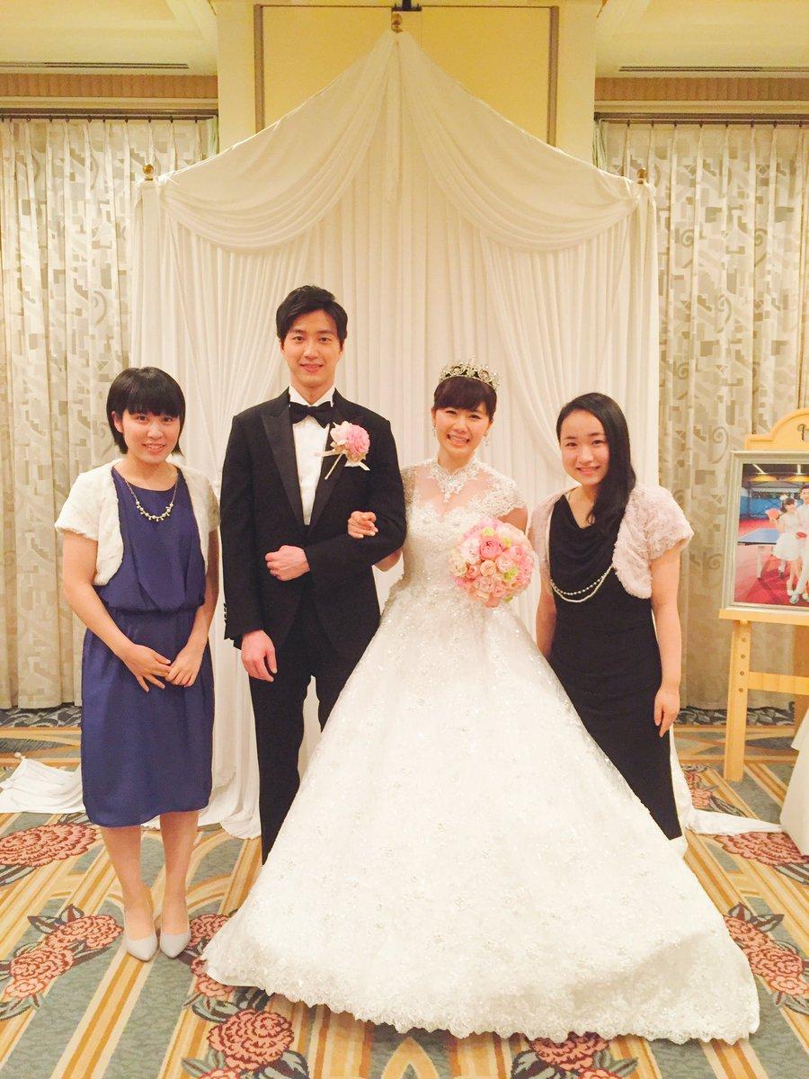 福原さんご結婚おめでとうございます👰🏻❤️🤴🏻  この場に参加させてもらいとても光栄でした‼︎ 江く…