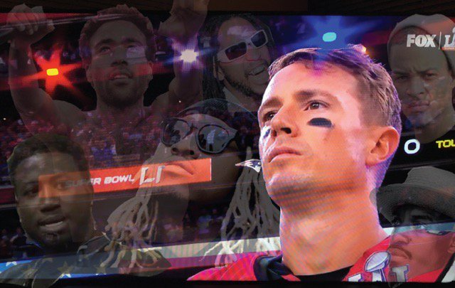 Tom Brady playing for legacy. Matt Ryan out here doing it for the trap  #SuperBowl
