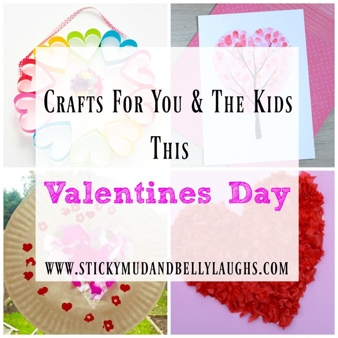 Valentines Day Crafts For You and The Kids To Make
