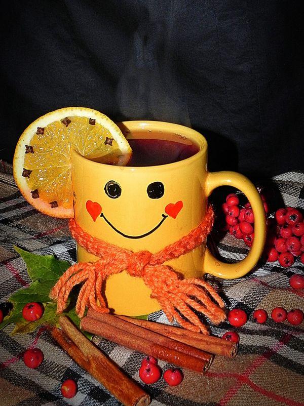 Улыбнись новому дню картинки с надписями с чашкой горячего чая, картинки