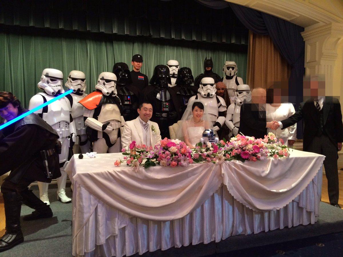コスプレ仲間の結婚式が想像を遥かに超える凄さだったww