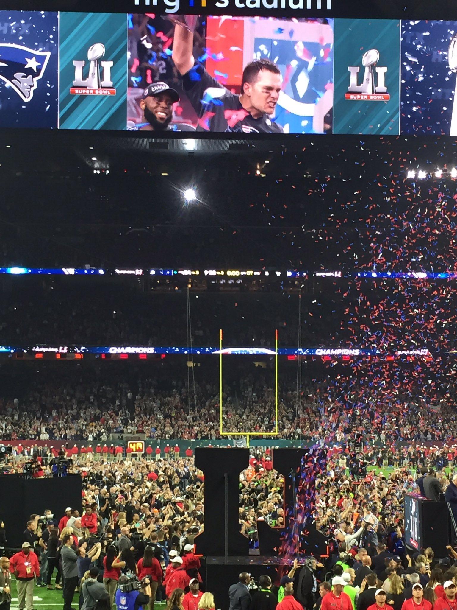 Que jogo, que experiência, que vitória, que privilégio ver um atleta como Tom Brady ao vivo! #gratidao  ���� https://t.co/i6JSX9i2Q7