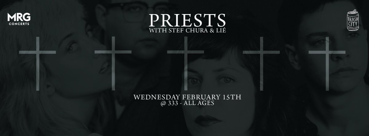 Want tickets to see post punk group @PRIESTS_TWEET LIVE! RT for a chance to win! @MRGConcertsWest https://t.co/OxYQ2YmG5N