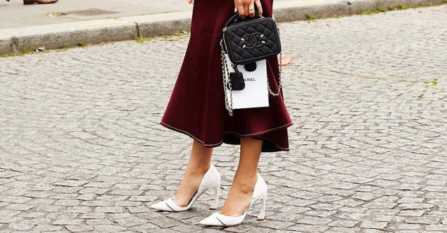 Hate Red? You'll Love These Burgundy Skirts