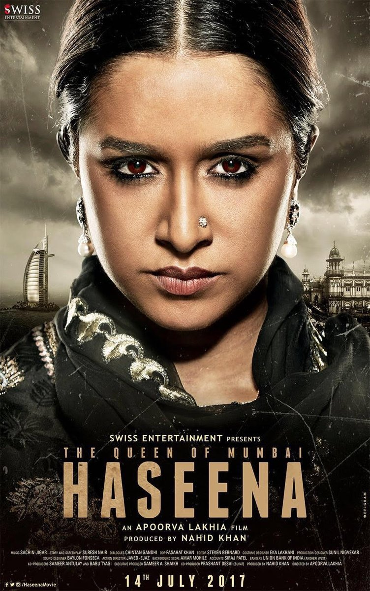 First Look of Haseena starring Shraddha kapoor
