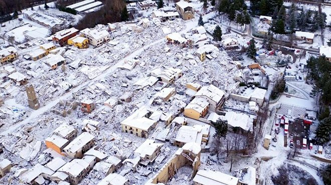 Aggiornamento Terremoti Centro Italia dopo la forte scossa sentita alle 5:10 AM di oggi