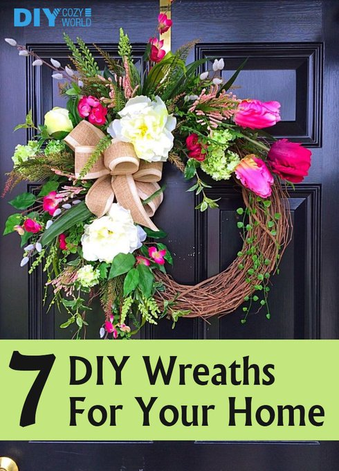 7 Amazing DIY Wreaths For Your Home