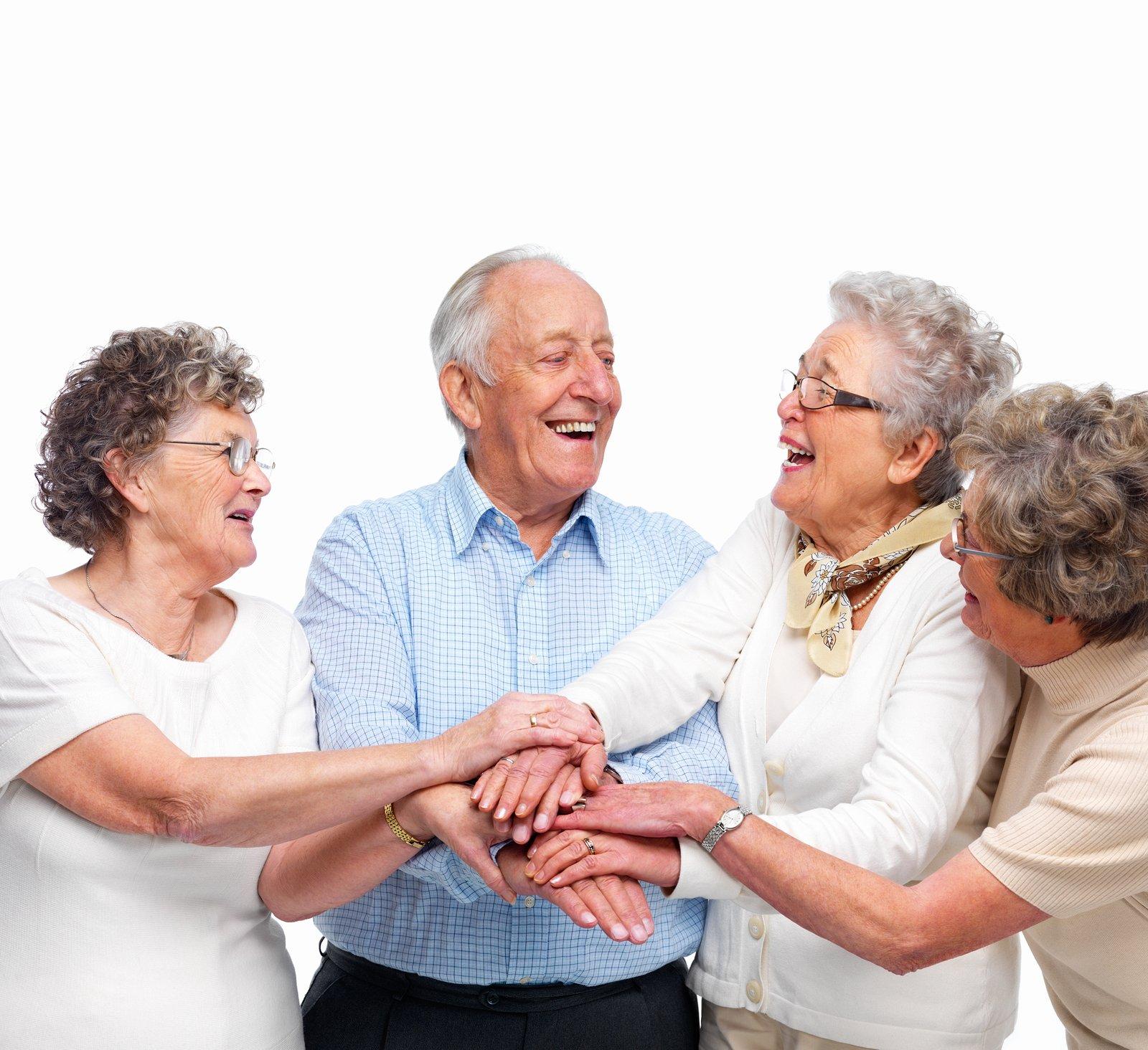 Картинки или фото с пожилыми людьми моховики