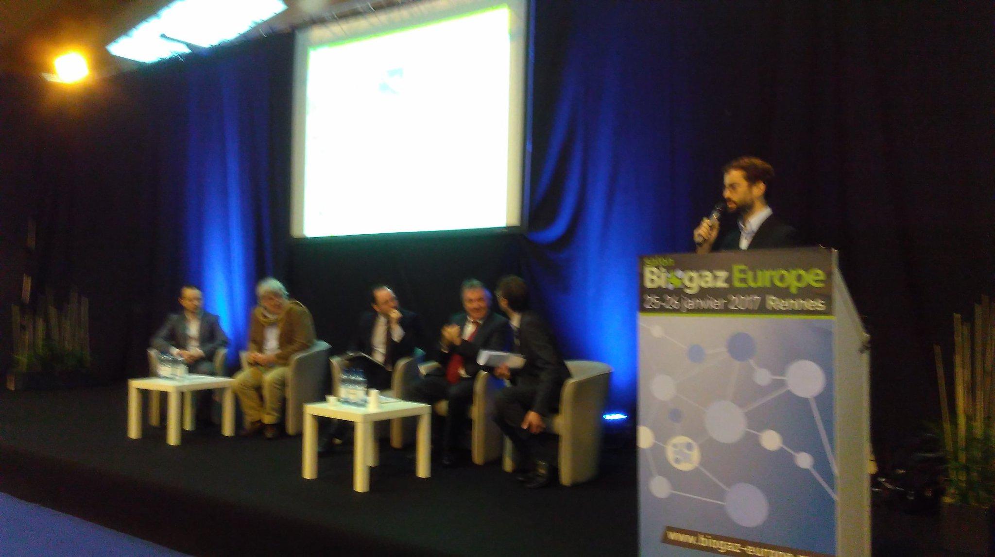 Inauguration de l'édition 2017 de @BiogazEurope avec nos partenaires @ademe @regionbretagne @paysdelaloire https://t.co/Rn6e75t7Qy