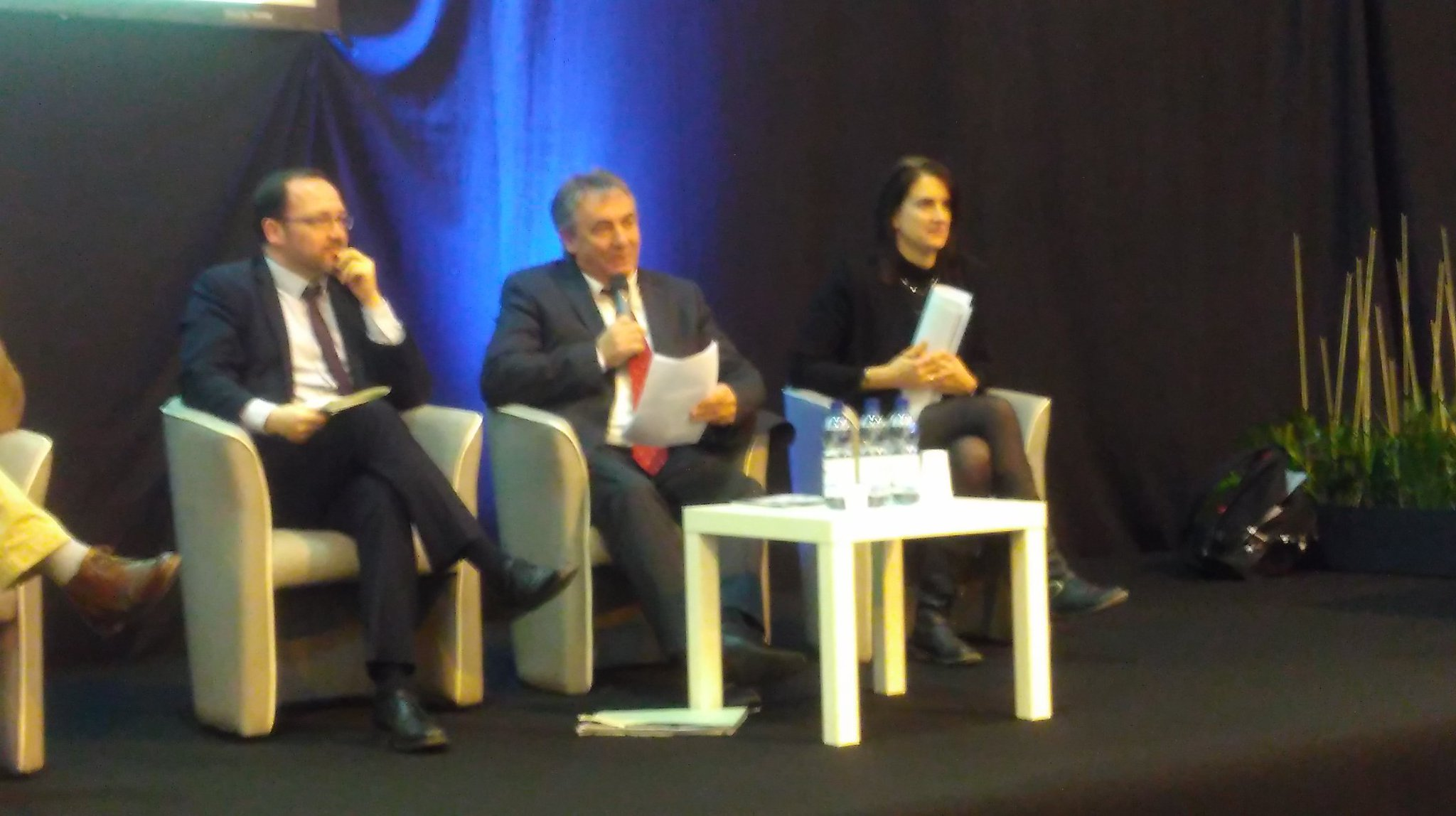 """Maurice Perrion, VP région @paysdelaloire : """"le #biogaz est 1 énergie verte, d'avenir qui doit être soutenue par les régions"""" @BiogazEurope https://t.co/R5DBttOrF5"""