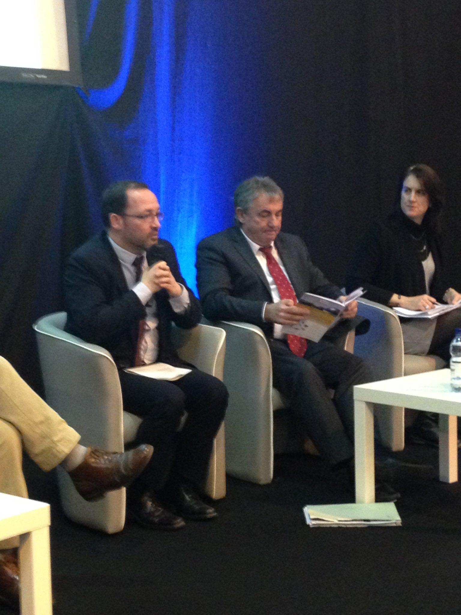 """D.Ramard @regionbretagne : """"enjeu filière #biogaz = continuer dvper projet et #innovation pour meilleure utilisation au niveau territorial"""" https://t.co/zxdIQRO2vg"""