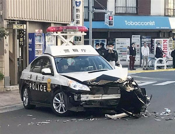 東京で白昼のカーチェイス…トラック暴走40分、6台のパトカーに衝突 無職の男を現行犯逮捕 sanke…