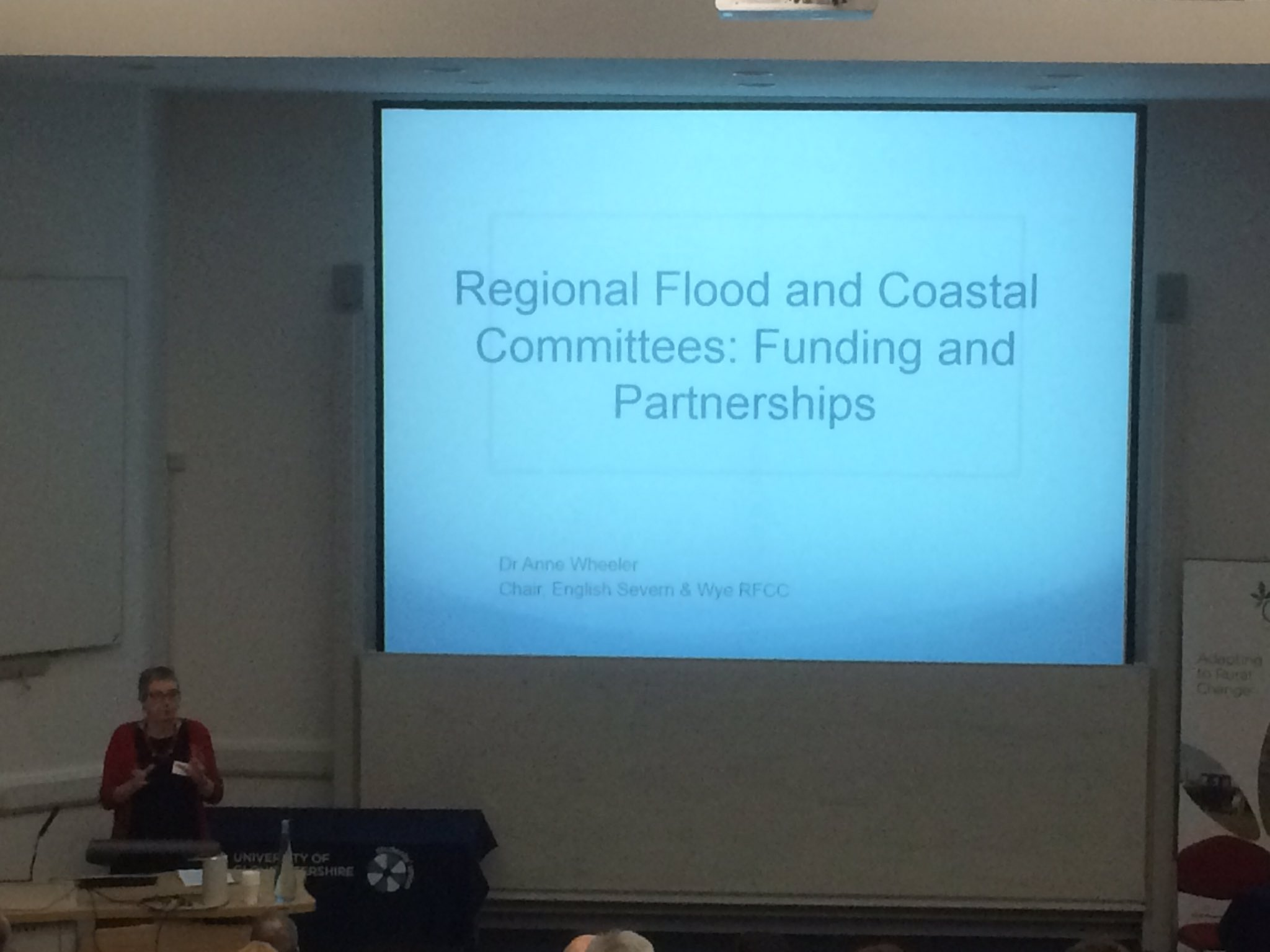 @annewheel up next at #GlosNFM17 talking about Regional Flood and Coastal Committees https://t.co/vOOHSn1zff