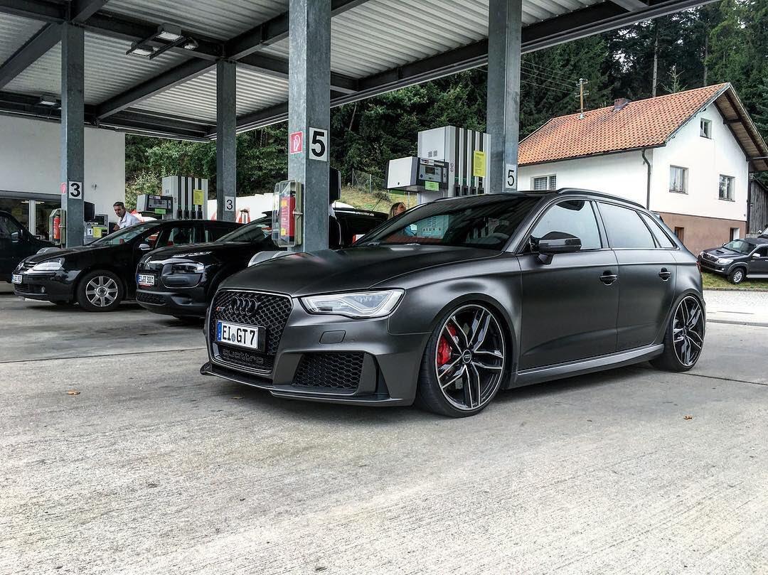 Audi Daily On Twitter Nero Satin Black Wrap Audi Rs3 Sportback