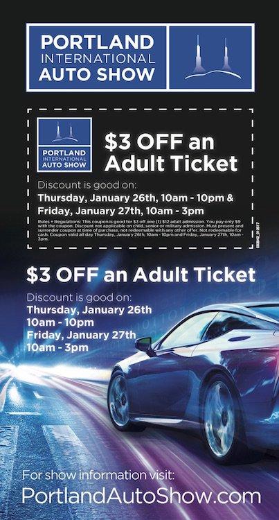Portland Auto Show Discount Coupons Honda Pilot Lease Deals Nj - Discount auto show tickets