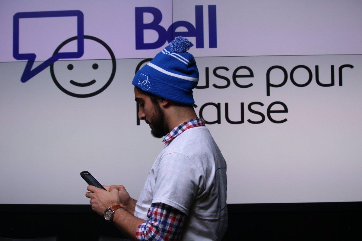 Chaque fois que vous parlerez, texterez ou interagirez, Bell remettra 5¢ aux diverses initiatives en santé mentale #BellCause https://t.co/oMr1WUgJFE
