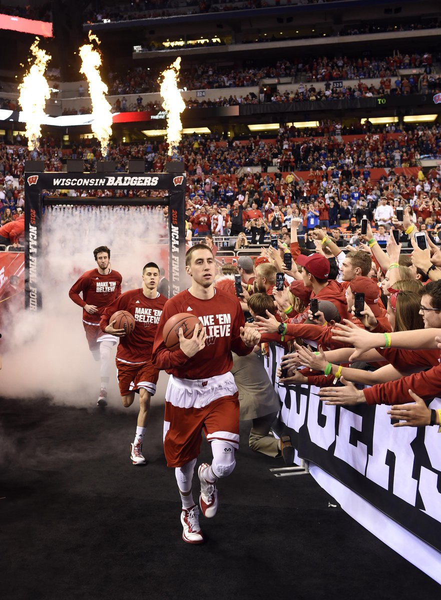 Wisconsin On BTN On Twitter Official Re Air Sked For BadgerMBB