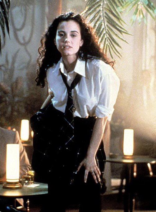 Happy 42nd birthday Mia Kirshner, star of 1990s indie classic, \Exotica,\ The Black Daliah, 24 and more.