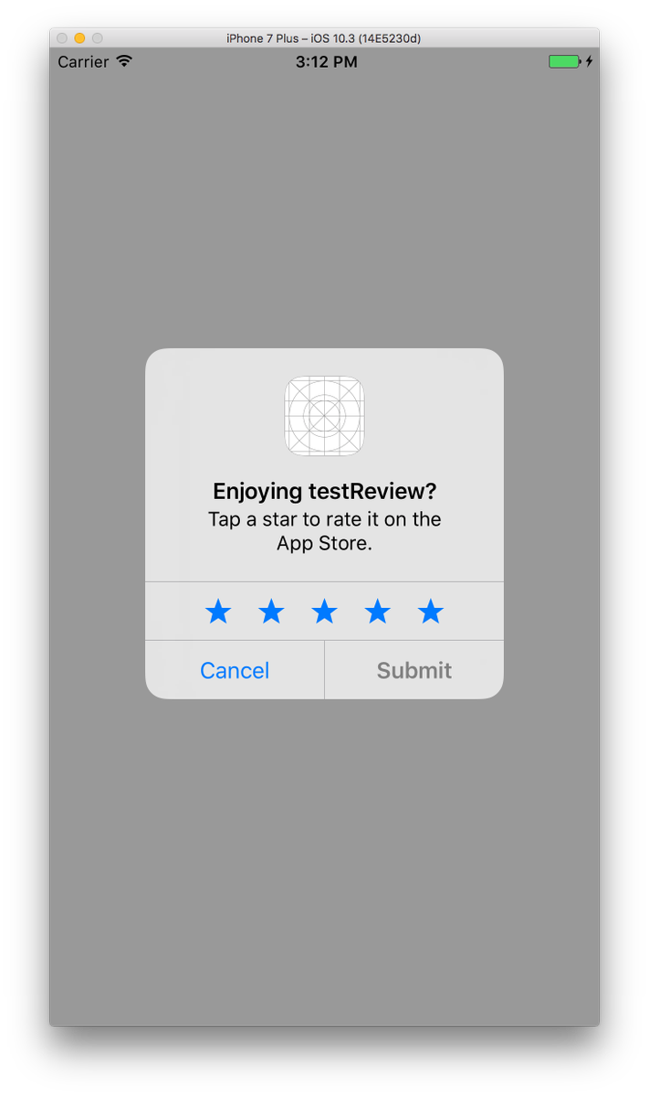 AppRating supports the brand new SKStoreReviewController API
