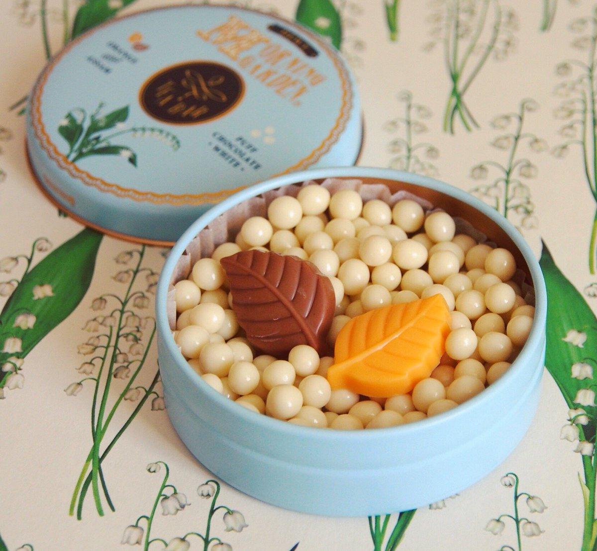モロゾフの紅茶フレーバーのチョコレート缶が可愛すぎる…これは全種類集めたい!!