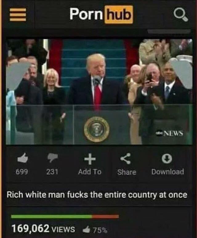 T H E O F O R D On Twitter When Pornhubfeed Has A New Popular Video Online Pornhub Pornhubvid Realdonaldtrump