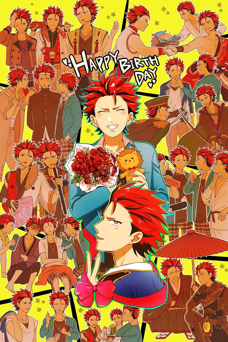 誕生日おめでとう!!大好き!!! #鬼龍紅郎生誕祭2017