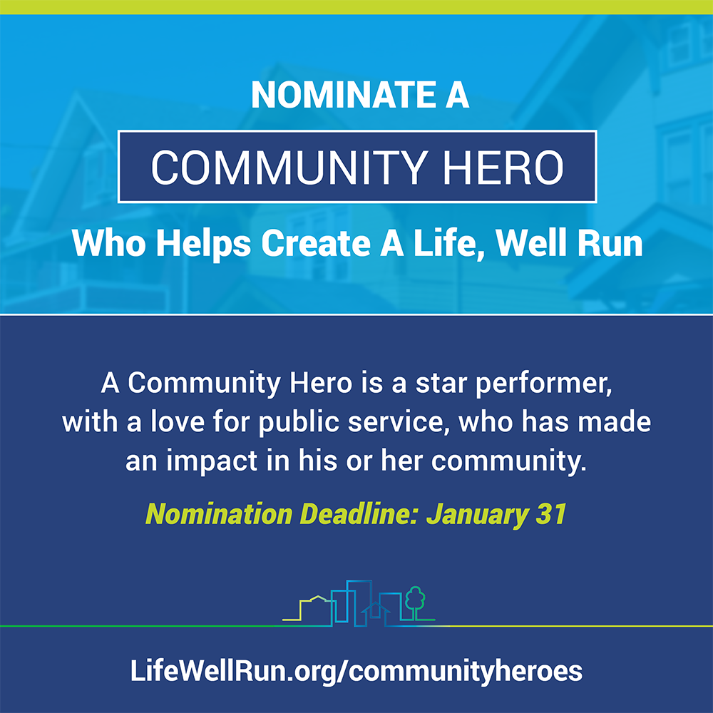 #localgov Community Heroes are the heart & soul of @lifewellrun. Nominate today! https://t.co/6ae5tDIAmb