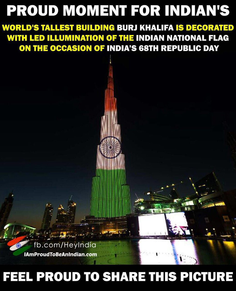 Rajdeep sardesai on twitter super to see the burj lit up with rajdeep sardesai on twitter super to see the burj lit up with the tricolour an islamic state paying honour to the republic of india powerful symbol on r biocorpaavc Choice Image