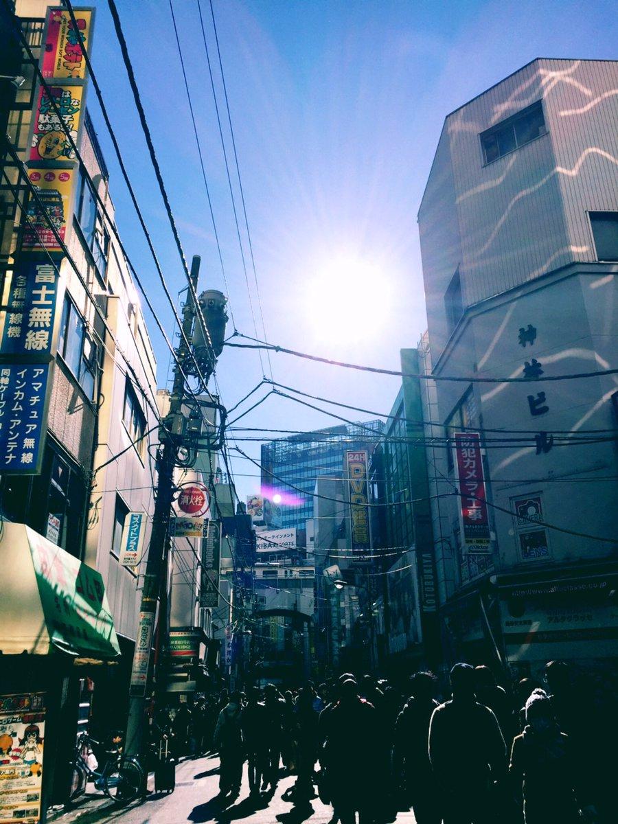 秋葉原の富士無線…わたしが高校生の頃、アキバでバイトして初めてのお給金で受信機を買ったお店なんです🐷…
