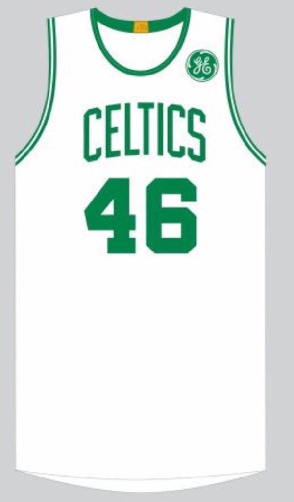 0b3ed5658d8 Mock-up of celtics home whites with ge logo patch - scoopnest.com