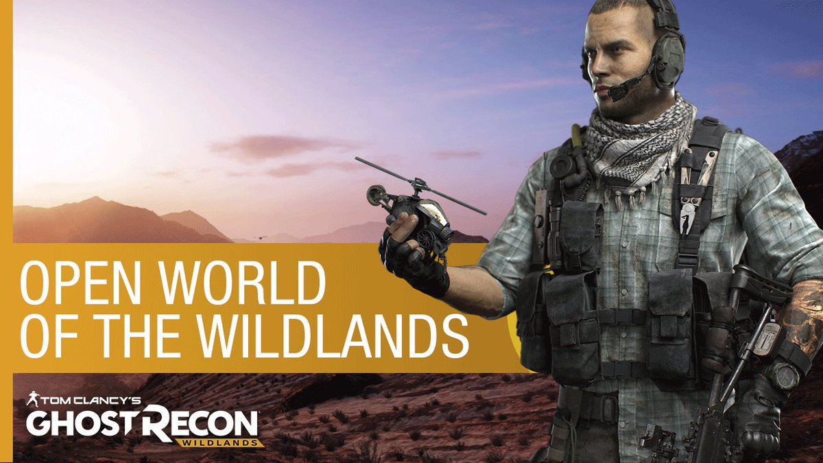 Rally your squad. The Ghost Recon Wildlands Beta begins 02.03.17. #GhostRecon https://t.co/9LRCaWEwaX