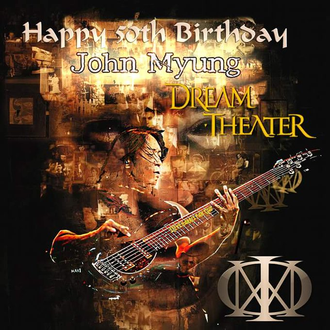 Happy Birthday Bang John Myung Pembetot Bass Dream Theater
