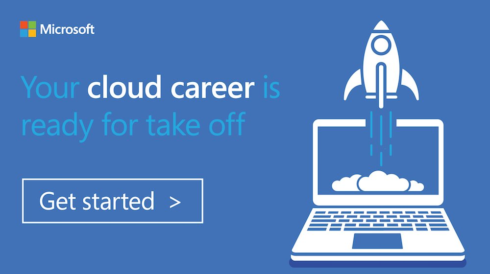 Microsoft Azure On Twitter Launch Your Cloud Career Into The
