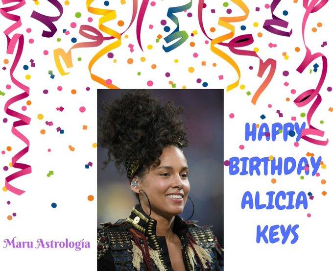 HAPPY BIRTHDAY ALICIA KEYS!!!!